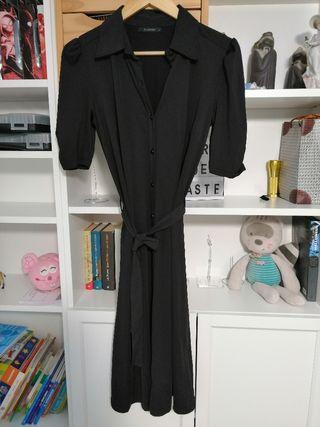 vestido out fit negro