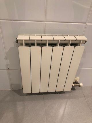 Radiador de aluminio para calefacción 6 elementos
