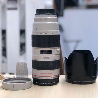 Objetivo Canon 70-200 f/ 2.8 L