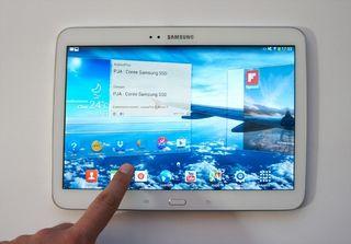 Samsung Galaxy Tab 3 10'1 + Funda Samsung Azul