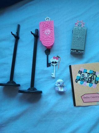 Monster High, accesorios