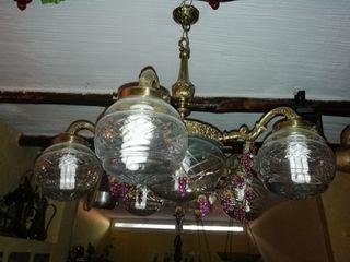 Lámpara muy antigua