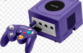 GameCube con mando