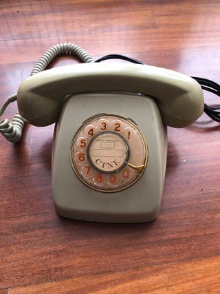 Teléfono antiguo CTNE