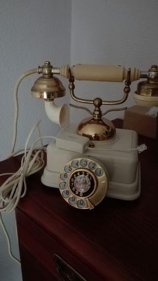 TELÉFONO ANTIGUO IMPECABLE FUNCIONA