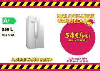 AMERICANO BEKO A+ BLANCO -- 55€/MES