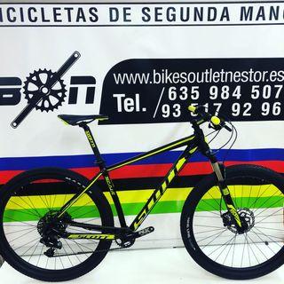 Bicicleta Scott scale 980 29
