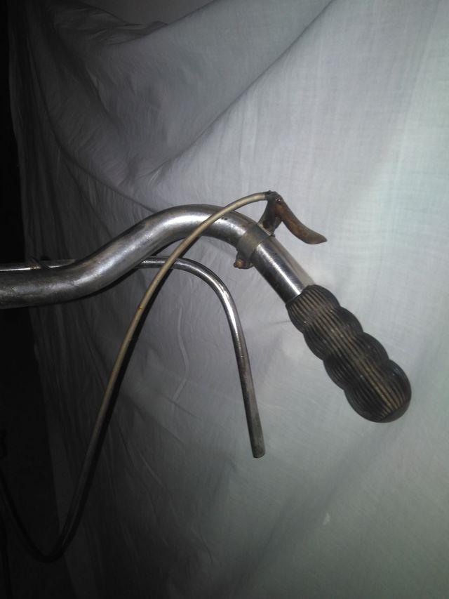 Bicicleta de varilla.