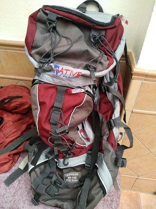 mochila, alpinismo, montañismo