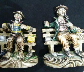 2 figuras porcelana