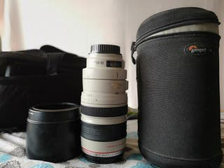 Canon objetivo 100-400mm