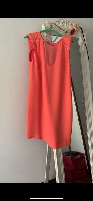Vestido Coral Zara