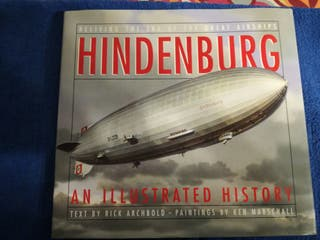 HINDENBURG. Historia Dirigibles.Aviacion Militar