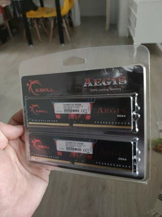16 GB de RAM DDR4 a 3000mhz Aegis G.Skill