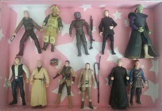 Star Wars lote figuras varias