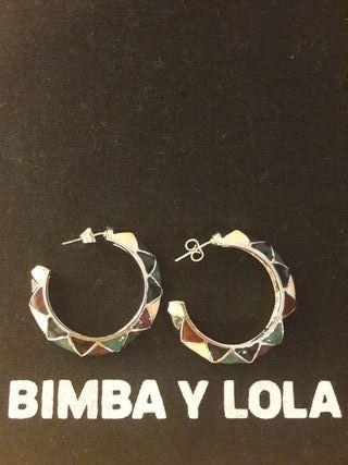 Pendientes Bimba y lola.