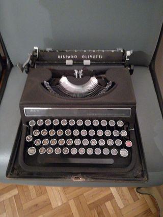 Máquina de escribir mecánica.