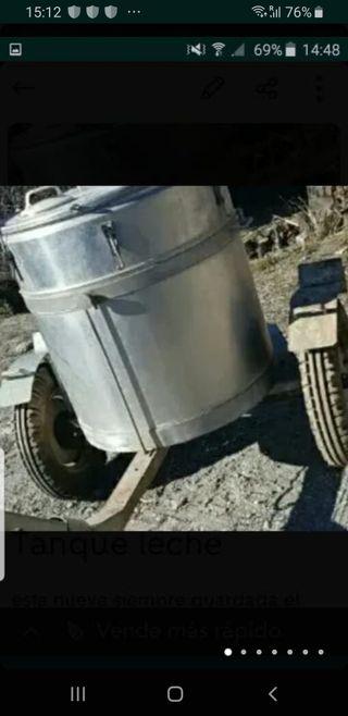 tanque de leche