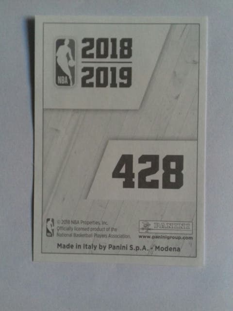 Sticker NBA 2018 19 Luka Doncic N° 428 Panini