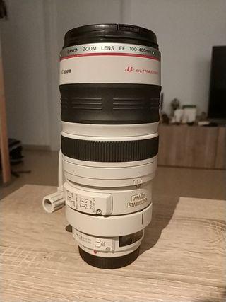 objetivo Canon 100-400mm F4,5-5,6 L IS