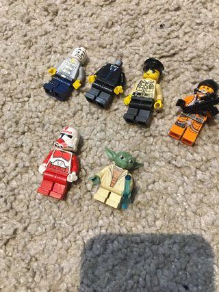 Pack figuras lego