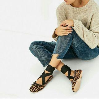 Bailarinas Zara leopardo 39