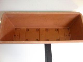 Maceta rectangular