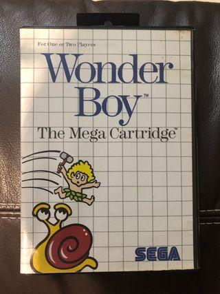 Wonder Boy Master System