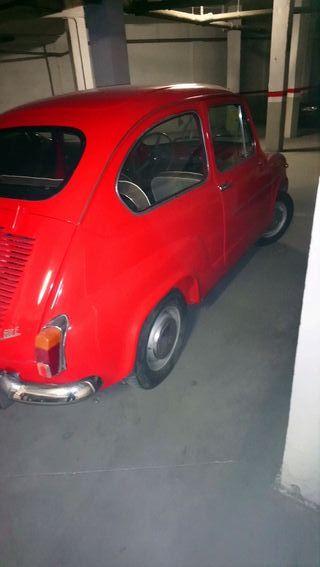 SEAT 600 1971 en perfecto estado recién pasada la itv