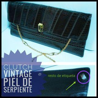 a69040dac Clutch dorados de segunda mano en Barcelona en WALLAPOP