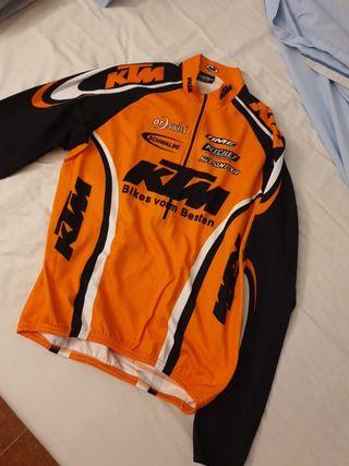 Maillot ciclista KTM