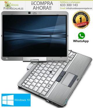 Portátil HP EliteBook 2740P, Pantalla táctil y gir