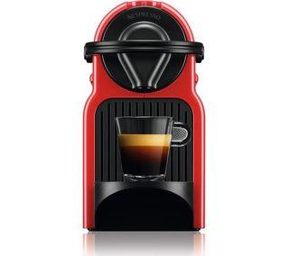 Cafetera Nespresso Inissia Roja