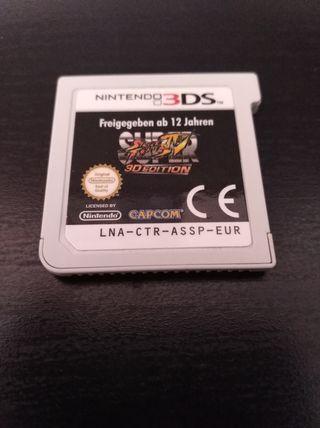Super Street Fighter IV 3D para 3DS