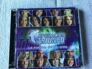 OPERACIONJ TRIUNFO CD LA FUERZA DE LA VIDA