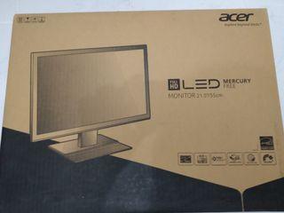 "Acer monitor 22"" FullHD 1080 V226HQL, como nuevo"
