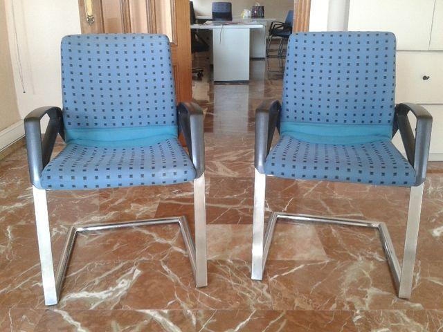 Sillas de oficina de segunda mano por 25 € en Murcia en WALLAPOP