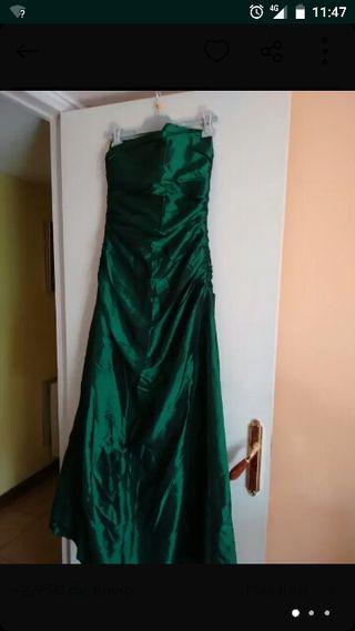 Vestido largo de ceremonia