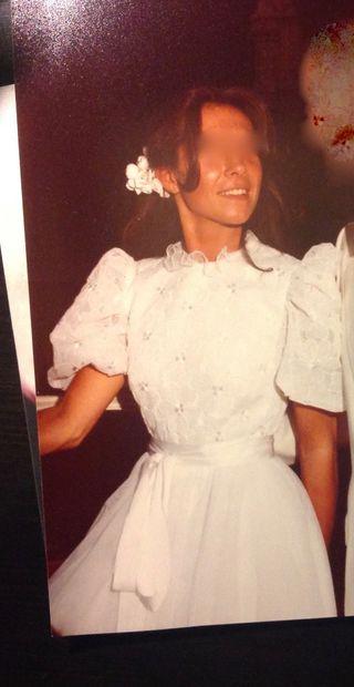 bc7d77380 Falda de novia de segunda mano en Madrid en WALLAPOP