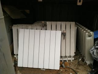 caldera y radiadores a gasoil