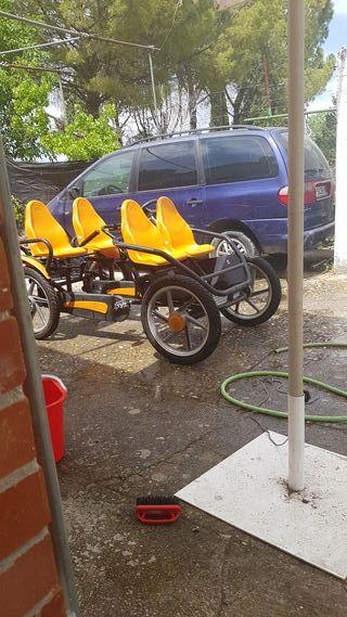 carrito pedales grand tour berg 700 negociables
