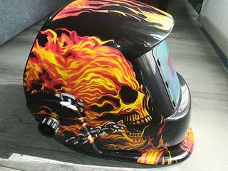 Máscara casco de soldar automática #SIN ESTRENAR#