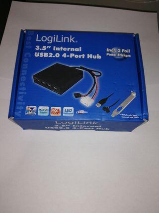 LOGILINK HUB 4 X USB INTERNO