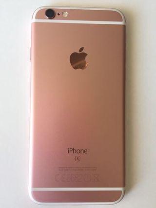 Vendo iPhone 6s 64gb rosa libre
