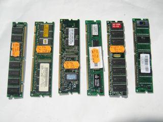 Modulos memoria SDRAM PC-133 128 Mb
