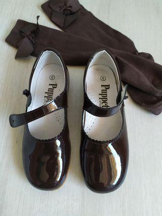 Zapatos charol 30