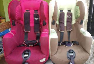 silla de paseo y sillas de coche