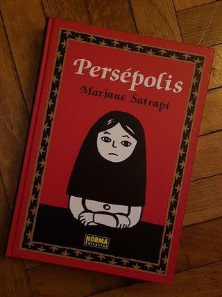 Novela Gráfica PERSEPOLIS de Norma Editorial