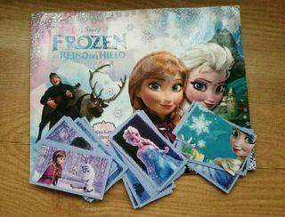 Cromos de Frozen de la primera edición del 2013