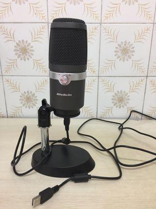 El Micrófono que no quiso pagar mi jefe: Avermedia